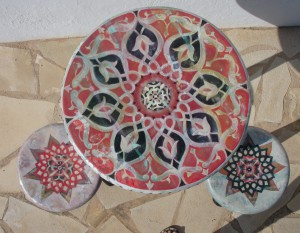 Mandala Table - Simona Marziani